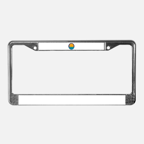 THE HORIZON License Plate Frame