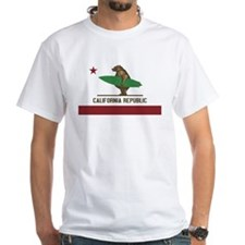 California Surfing Bear T-Shirt