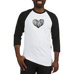 Baritone Sax Heart Baseball Jersey