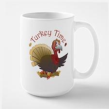 Turkey Time Large Mug
