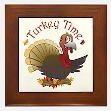 Turkey Time Framed Tile