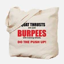 Squat_Thrusts Tote Bag