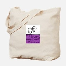 Count On You Tote Bag