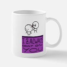 Count On You Small Mug