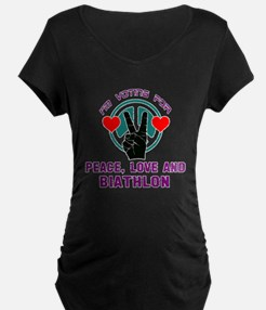 I am voting for Peace, Love T-Shirt