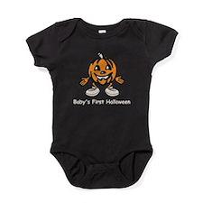 Babys First Halloween Baby Bodysuit