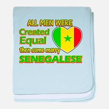 Senegalese wife designs baby blanket