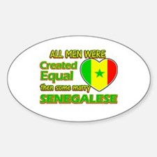 Senegalese wife designs Decal