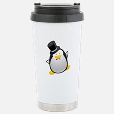 Penguin Groom Travel Mug