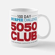 100 Day Burpee Challenge 5050 Club Mug