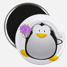 Penguin Bride Magnet