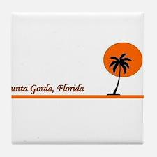 Punta Gorda, Florida Tile Coaster