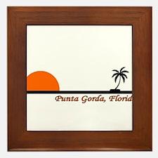Punta Gorda, Florida Framed Tile