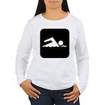 Swimming Area Women's Long Sleeve T-Shirt