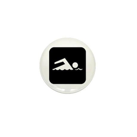 Swimming Area Mini Button (10 pack)