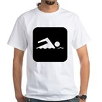 Swimming Area White T-Shirt