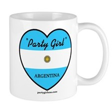 Party Girl Argentina Coffee Mug
