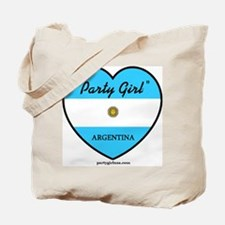 Party Girl Argentina Tote Bag