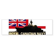 Royal Canadian Navy Bumper Bumper Sticker
