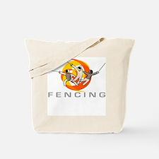 FENCING TRIO Tote Bag