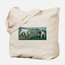 First Honor Brittany Puppies Tote Bag