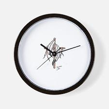indian cross Wall Clock
