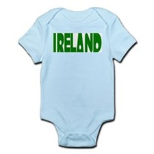 "Ireland Green ""Radio Kit"" Infant Creeper"