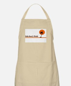 Palm Beach, Florida BBQ Apron