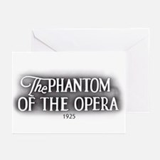 The Phantom of the Opera 1925 Greeting Cards (6)
