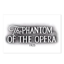 The Phantom of the Opera 1925 Postcards (8)