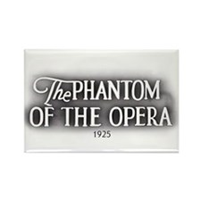 The Phantom of the Opera 1925 Rectangle Magnet