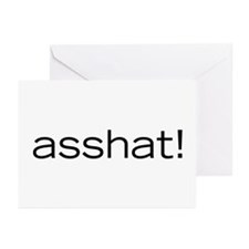 Asshat! Greeting Cards (Pk of 10)