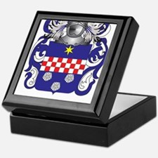 Marque Coat of Arms - Family Crest Keepsake Box