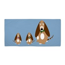 Basset Hound Beach Towel