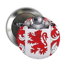 """Marques Coat of Arms - Family Crest 2.25"""" Button"""