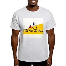 Racquetball Art of War 2 Ash Grey T-Shirt