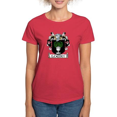 Lowry Coat of Arms Women's Dark T-Shirt