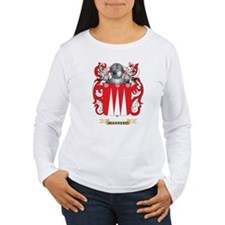 Marrero Coat of Arms - Family Crest Long Sleeve T-