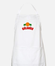 Palm Beach Gardens, Florida BBQ Apron