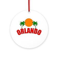 Palm Beach Gardens, Florida Ornament (Round)