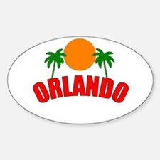 Palm Beach Gardens, Florida Oval Decal