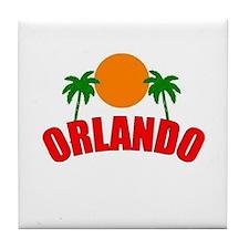 Palm Beach Gardens, Florida Tile Coaster
