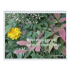 Faith Wall Calendar