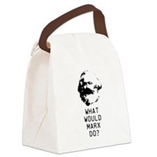 What Would Max Weber Do? Canvas Lunch Bag
