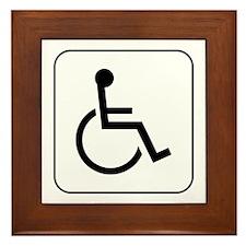 Handicap Accessible Framed Tile