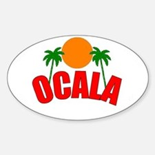 Ocala, Florida Oval Decal