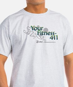 YourFitness-411 Logo T-Shirt