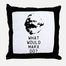 What Would Karl Marx Do? Throw Pillow