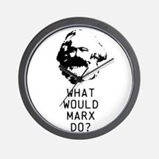 What Would Karl Marx Do? Wall Clock