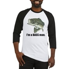 bass man Baseball Jersey